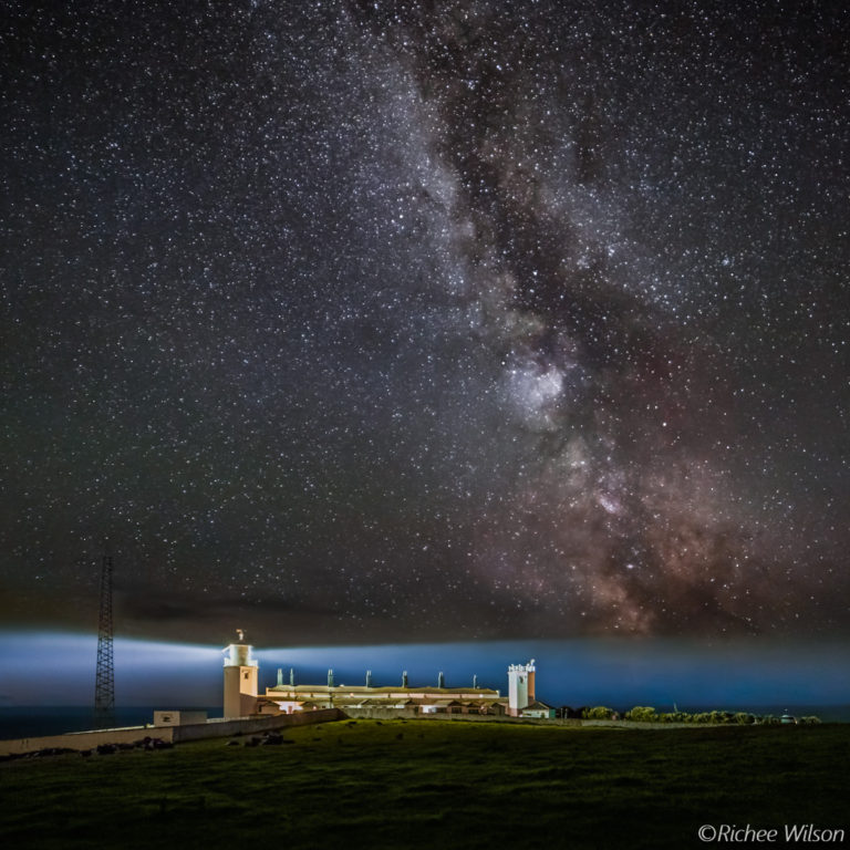 Milky Way over Lizard Lighthouse