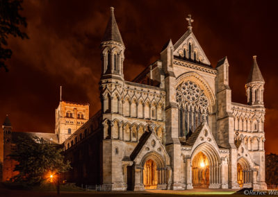 St Albans Cathdral, 10pm
