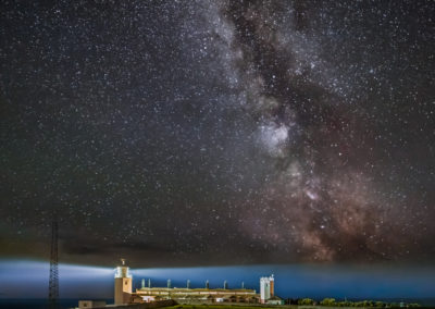 Milky way over Lizard Lighthouse - Scored 22